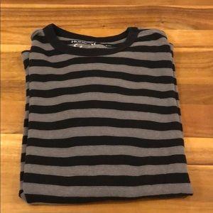 Hurley thermal stripe shirt